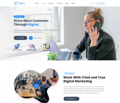 [PREVIEW] Sj Agenz - Modern Business, Agency Joomla Template