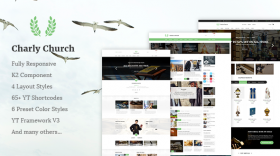 SJ Charly - Professional way to build a church/religious website