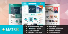 SJ Matrix - A Professional & Clean Coded VirtueMart Template