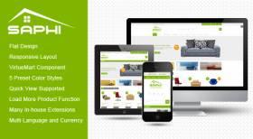 SJ Saphi - Luxury eCommerce Joomla Template