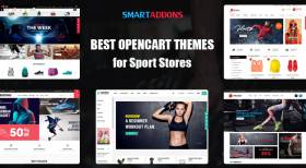 2021's Best OpenCart Themes, OpenCart Templates for Sport Stores