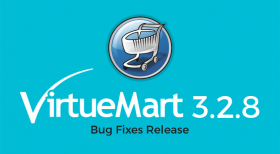 VirtueMart 3.2.8 Bug Fixes Release