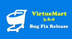 Bug Fix Release for VirtueMart 3.6.0