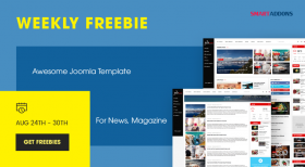 SmartAddons Weekly Freebie #1: Get Sj ExpNews Template Package For Free