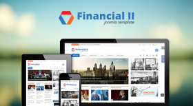 SJ Financial II - Beautiful Joomla Template for Financial News Websites