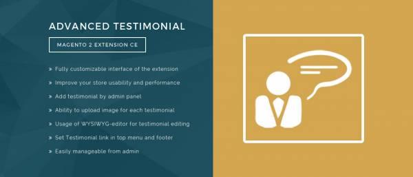 Advanced Testimonials Magento 2 Extension