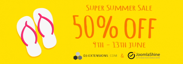 Last day of Super Summer sale!