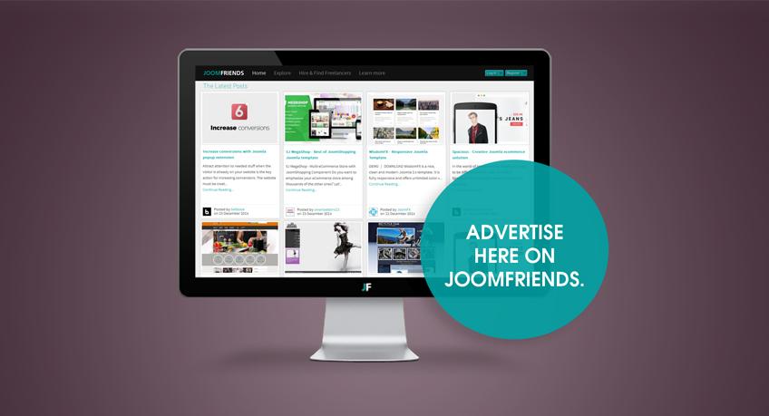 advertise here on joom-friends